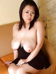 Beautiful and hot asian bigtits girl