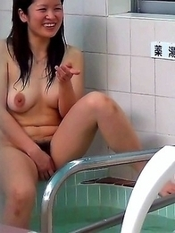 Japanese Piss Fetish Videos - Girls Pissing - Steamy Streams At A Bathhouse 2